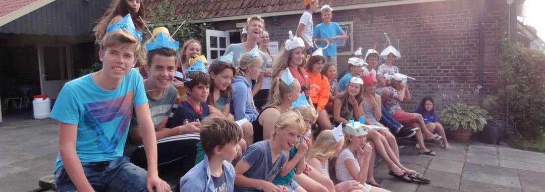 Bonte Avond zeilschool Friesland